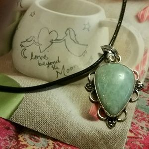 Jewelry - Larimar necklace 925 sterling silver*
